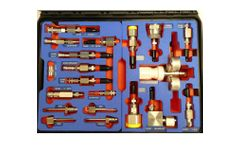 EMT Launch SF6 Universal Fittings Kit for GIS Maintenance Personnel