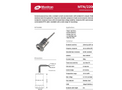 Monitran - Model MTN/2200, 4P, C - General Purpose Industrial Accelerometer