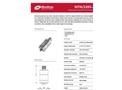 Monitran - Model MTN/2285-2P, -4P, C - General Purpose, Top-Entry Velocity Transducer