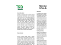 The Natural & Effective Land Oil Spill Cleanup Solution Spill-Bac- Brochure