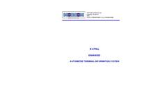 ATIS & VOLMET - Aeronautical Support Systems Brochure