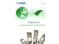 Augier - Model 950 V - 3200 V - 5500 V - Outdoor PTC Transformer substation Brochure