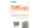 Augier - Model 3200 V— 5500 V— 6600 V - - Watertight Transformers Brochure