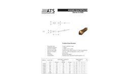 Avian Backpack - Model A1000 - Transmitter Tracking System Brochure