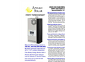 Apollo Solar - Model T80HV - High Voltage TurboCharger Charge Controller - Brochure