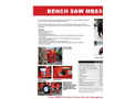 Model MBS516 - Portable Bench Saw Brochure