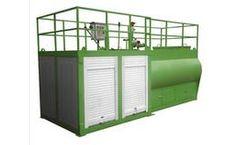 Sincola - Model SPB4083 - Hydraulic Seed Spraying Machine