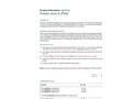 Model PVA - Suspicious Potato Plant Samples Test Strip - Brochure