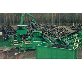 Machineries for tire shredding & recycling - Waste and Recycling