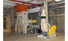 Machineries for cardboard recycling