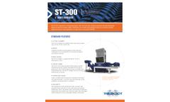 Shred-Tech ST-300 - Two Shaft Shredder - Brochure