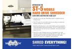 ST-5 Mobilehard Drive Shredder - Brochure