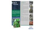 Shred-Tech STQ-75 4-Shaft Shredder - Brochure