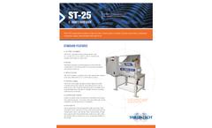 Shred-Tech ST-25 2 - Shaft Shredder - Brochure