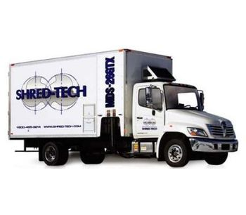 Model MDS-26GTX - Mobile Shredding Trucks