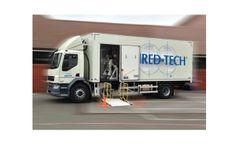 Shred-Tech - Model MDS-1-UK/EU - Mobile Shredding Truck