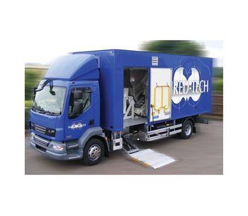 Shred-Tech - Model MDS-3-UK/EU - Mobile Shredding Truck
