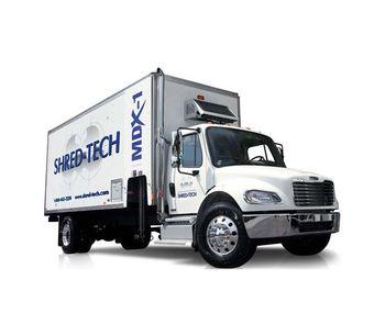 Shred-Tech - Model MDX Line - Mobile Shredding Trucks