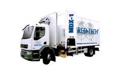 Shred-Tech - Model MDX-1-North & South Asia - Mobile Shredding Truck
