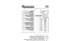 Procom - Model II - Precision Control, Multiple Zone Capability, Easy Operation System - Brochure