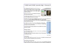SFD S 8515 HPLC-GPC-Online Vacuum Degasser Technical Specifications Sheet