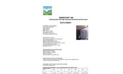 Drenoter - Model 500 - Drainage Panel - Datasheet