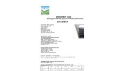 Drenoter - Model 1.000 - Drainage Panel With High Hydraulic/Mechanical Performances - Datasheet
