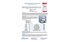Wilchem - Model 170 - Manganese Sulfate - Brochure