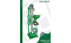 Haldrup - Model DC-20 - Densimetric Sorting and Cleaning Column Machine Brochure