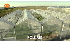 Rovero Systems B.V. Roll-Air Kas / Greenhouse - Video