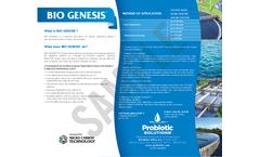 Bio Genesis - Model 4814 - Biostimulant Brochure