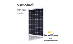 Sunmodule - Model 270 Mono DS - Solar Panels