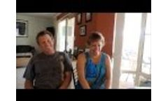 Living with solar power. Interview with Karen and Trevor Video