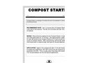 Compost Starter Brochure