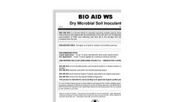 BIO AID - Model WS - Dry Microbial Soil Inoculant Brochure