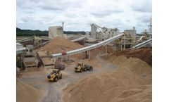 Material handling, drying and bulk storage solutions for biomass pellet production sector