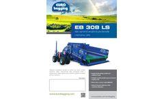 Euro Bagging - Model EB 308 LS - Silage Bagger - Brochure