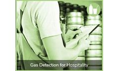 Gas detection solutions for the hospitality industry