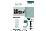 Analox - Model AX60+ - Wall-Mountable Multi Gas Monitor - Brochure