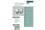 Analox - Model CO Clear - Carbon Monoxide Monitor - Brochure