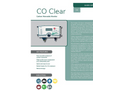 CO Clear - Carbon Monoxide Monitor for Air Diving - Datasheet