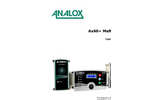 Analox - Model AX60+ - Wall-Mountable Multi Gas Monitor - User Manual