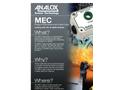 Analox - Model MEC - Monitoring Toxic Gases in Breathing Air - Brochure