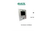 Analox - Model SDA - Helium - Saturation Control Gas Monitoring - User Manual