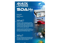 Analox - Model SDA - Helium - Saturation Control Gas Monitoring - Brochure