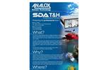 Analox - Model SDA - Temperature & Humidity - Saturation Control Gas Monitoring - Brochure