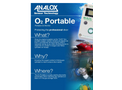 Analox - Model O2 - Portable - Gas Cylinder Checker for Saturation Diving - Brochure