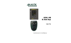 ADM, HBOT & Sub Aspida User Manual