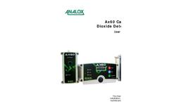 Analox - Model AX60+K - Carbon Dioxide Monitor - User Manual