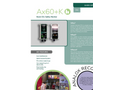Analox - Model AX60+K - Carbon Dioxide Monitor for Food Kiosks - Brochure